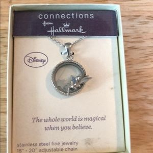 Hallmark Disney tinker bell  necklace